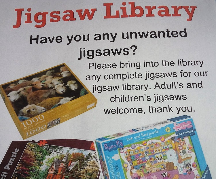 Have you any unwanted Jigsaws?
