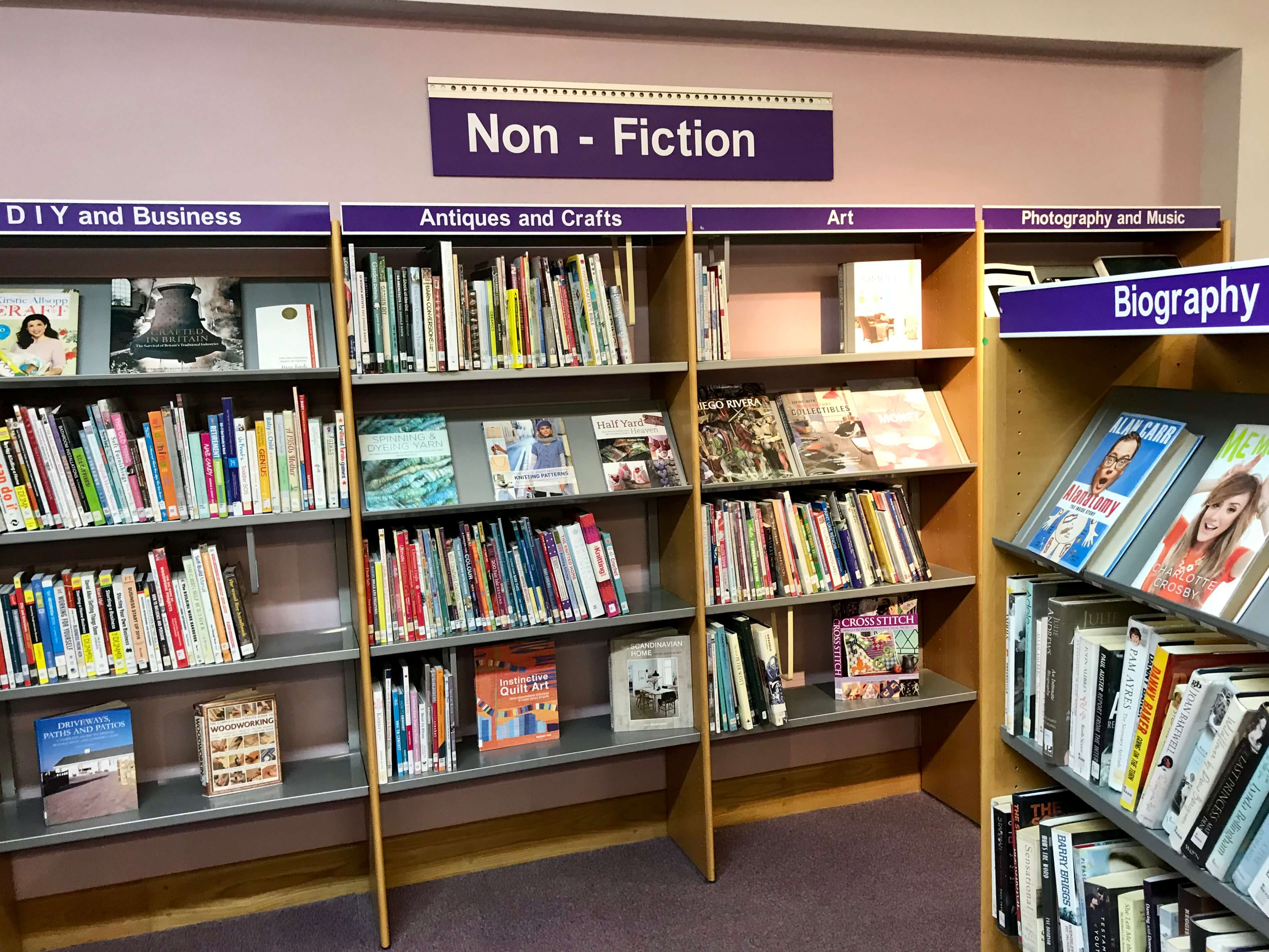 Books, The Globe, Stokesley, Community Library, Services
